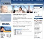 Screenshot whmedia Internet-Agentur