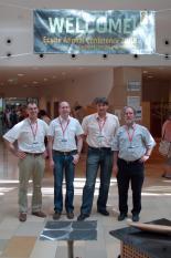 Dynamikum-Team in Budapest