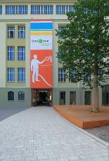 Dynamikum - Eingang Rheinberger