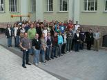 Teilnehmer an der 5. Deutschen Sudoku Meisterschaft im Dynamikum Science-Center Pirmasens
