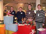 Die Top 4 der Deutschen Sudoku Meisterschaft 2009:v.l.n.r.: Michael Ley  /  Michael Smit  /  Sebastian Matschke  /  Florian Kirch
