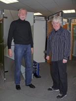 von links nach rechts: Ulrich Schmitt und Klaus Hofer