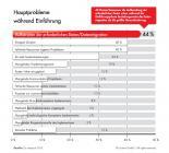 """Infografik """"Hauptprobleme während Einführung"""""""