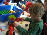 Impression aus einem Workshop im LEGO Education INNOVATION STUDIO Dynamikum