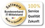 "Gütesiegel ""Software Made in Germany"" des Bundesverbands IT-Mittelstand e.V. (BITMi)"