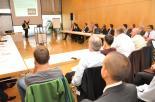 Auch die 15 themenspezifischen Sessions zu Projekten, Lösungen und Technologie stießen auf reges Interesse bei den Infotags-Besuchern.