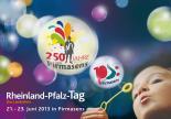Logo Rheinland-Pfalz-Tag 2013 in Pirmasens