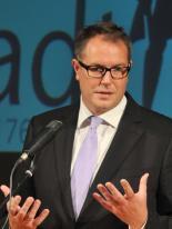 Alexander Schweitzer, rheinland-pfälzischer Minister für Soziales, Arbeit, Gesundheit und Demografie