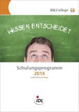 IDLCollege Schulungsprogramm 2014