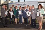Übergabe des Zertifikats am 12.03.2014 in Mainz