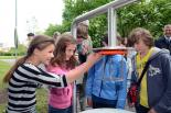 """Wissenschaftliche Experimentierstation """"Klebeluft"""" im Pirmasenser Naturpark Strecktal"""
