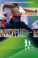 Plakatmotiv Pfälzerwald-Marathon 2014