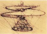 Unter anderem Libellen inspirierten Leonardo da Vinci zu technischen Entwürfen, die die Vorläufer von heutigen Hubschraubern darstellten.