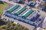 Luftbild des Pirmasenser Sitzes von Sport-Tec