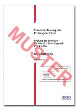 Software-Zertifikat / IDL.KONSIS 2014.0