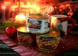 Conserva-Ideen zur Bescherung: Steak House Burger, Glühwein aus der Dose und der Tindle als universeller Dosengriff