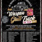 WASGAU schickt den GrillTruck auf Achse<br /><h5>WASGAU  | Pressemitteilung vom 24. Mai 2017</h5>