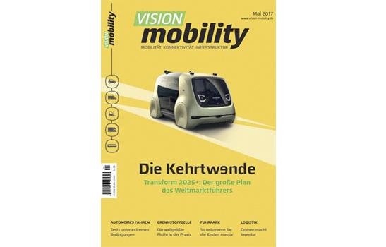 "Premiere für ""VISION mobility"""