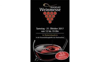 Auf zur WASGAU Weinmesse