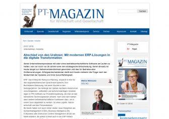 ERP in Zeiten der digitalen Transformation