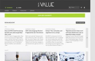 be.invalue.de – Daten, Fakten, Hintergründe für die Versicherungswirtschaft