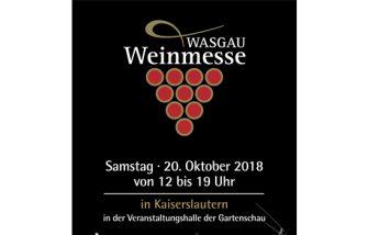 7. WASGAU Weinmesse in Kaiserslautern
