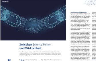 Lesen: Blockchain-Technologie und mehr im IHK-Magazin
