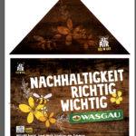 Bunter Lebensraum für Wildbienen, Schmetterlinge & Co.: WASGAU lässt Wiesen blühen<br /><h5>WASGAU | Pressemeldung vom 22. Aug. 2019</h5>